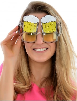 Beer Goggles Beer Glasses Specs Hen Party Accessory