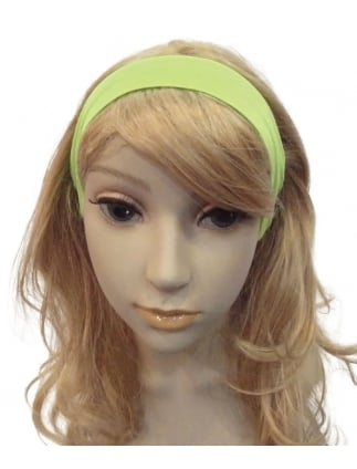 Laides Neon 80's Fancy Dress Headband