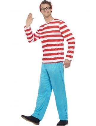 Men's Where's Wally? Costume