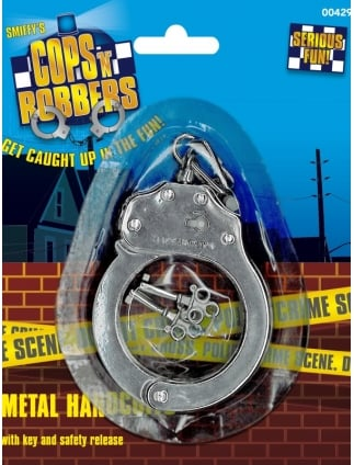 Cops and Robbers Metal Handcuffs