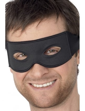 Fancy Dress Robber/Bandit/Convict Eyemask