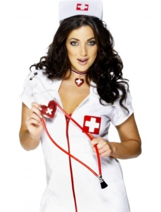 Nurse Heart Shaped Stethoscope