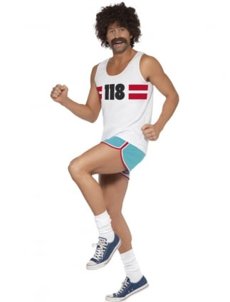 118 118 Male Runner Costume