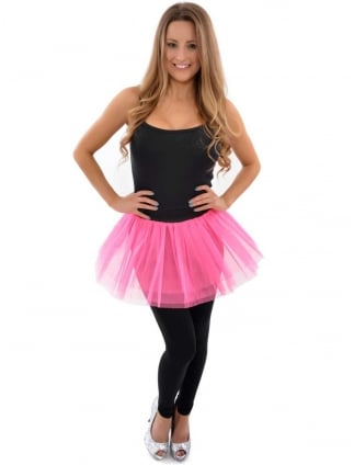 Hen Party Fancy Dress 3 Layer Tutu