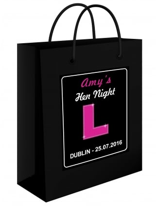 Personalised Kerry's Hen Party Gift Bag