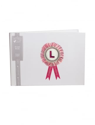 Hen Night Party Guest Book with Rosette