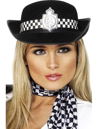 Policewoman's Fancy Dress Hat