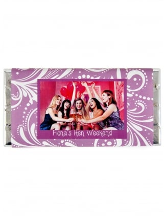 Your Photo Hen Party Personalised Chocolate Bar