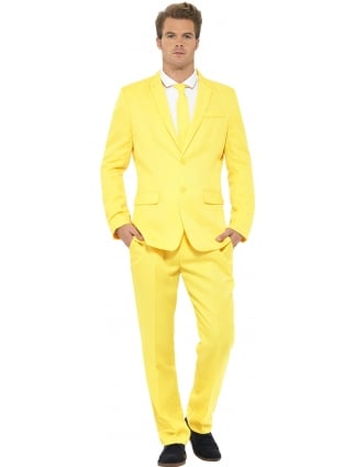 Men's Stand Out Yellow Suit