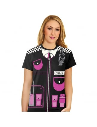 Police T-shirt Hen Party Police Top