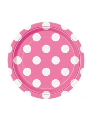 Hen Party Tableware Spotty Party Plates