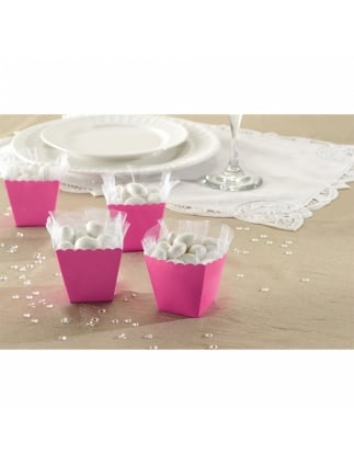 Favour Boxes, Hen Party Pink (x100)