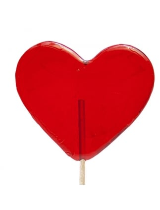 Large Heart Lollipop Heart