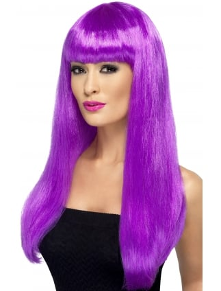 Babelicious Long Wig Purple