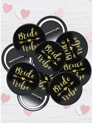 Bride Tribe Badge