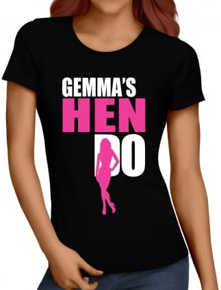 Silhouette Hen Party T-Shirt