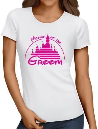Magical Princess 'Mother of the Groom' Hen Party T-Shirts