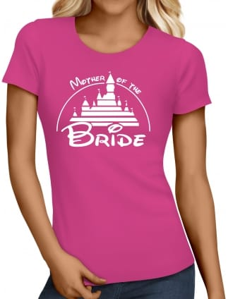 Magical Princess 'Mother of the Bride' Hen Party T-Shirts