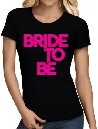 Distinctive Bride To Be Hen Night T-Shirts