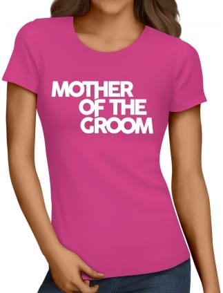 Distinctive Mother Of The Groom Hen Party T-Shirts