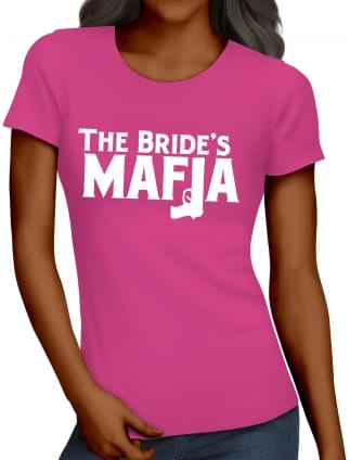 Bride's Mafia Gangster Hen Party T-Shirts
