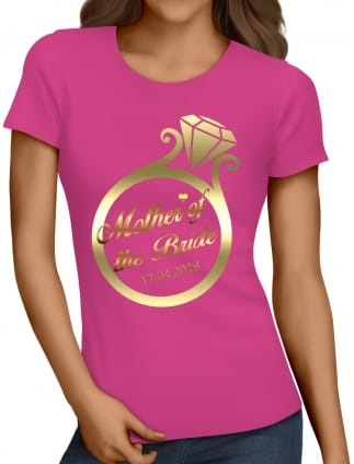 Gold Ring Mother Of The Bride T-Shirts