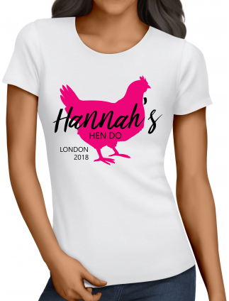 Silhouette Hen Party T-Shirts