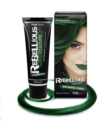 Semi-Permanent Hair Dye 70ml Enchanted Green