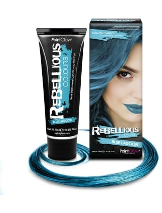 Semi-Permanent Hair Dye 70ml Blue Lagoon