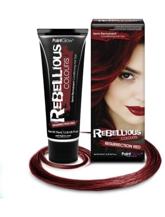 Semi-Permanent Hair Dye 70ml Red