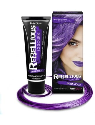 Semi-Permanent Hair Dye 70ml Violet