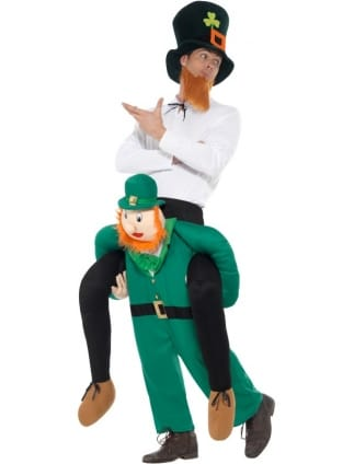 Piggyback Paddy's Leprechaun Costume