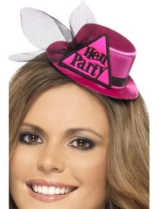 0362ff33997 Pink Mini Hen Party Top Hat