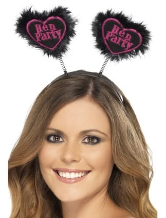 Heart Shaped Hen Party Head Boppers