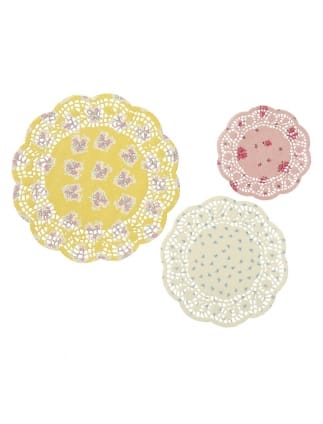 Truly Scrumptious Pastel Doilies