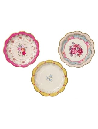 Truly Scrumptious Floral Pretty Plates