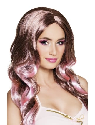 Ombre Brown/Pink Wig