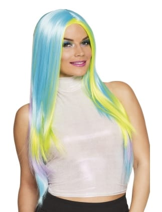 Wild Sky Multi-Coloured Long Wig