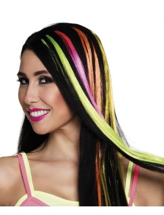 Neon Hair Extension Strips