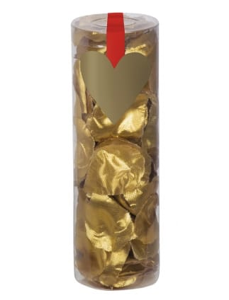 Tube of Gold Rose Petals