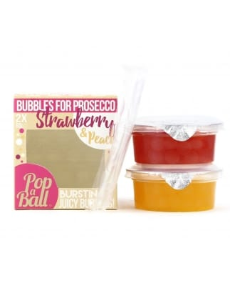 Popaball Strawberry & Peach Bursting Bubbles
