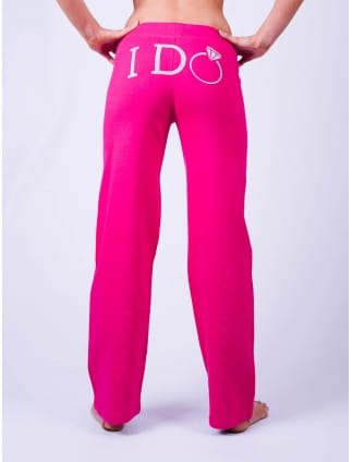 I Do Lounge Pants Pink