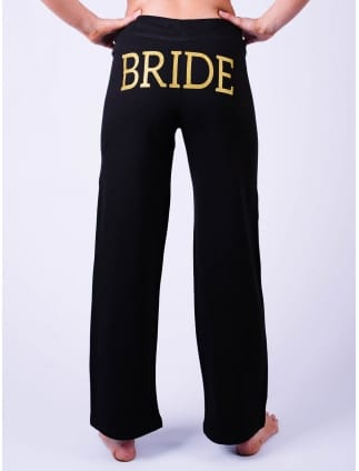 Bride Lounge Pants Black
