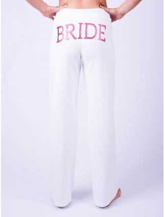Bride Lounge Pants White