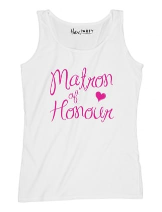 Elegant Matron Of Honour Hen Party T-Shirts