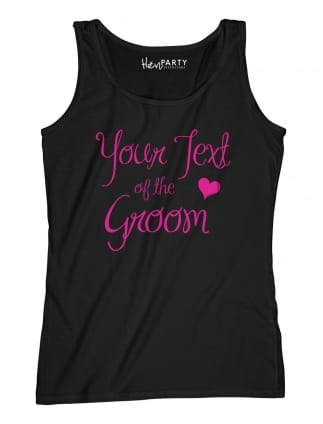 Elegant Your Text Of The Groom T-Shirts