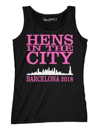 Hens In The City Personalised Hen Party T-Shirts