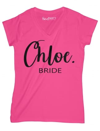 Chic Bride Hen Party T-Shirts