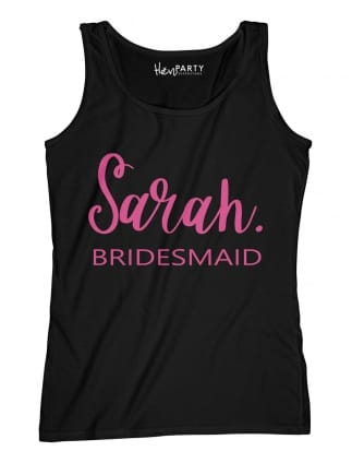 Chic Bridesmaid Hen Party T-Shirts