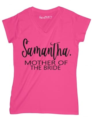 Chic Mother Of The Bride T-Shirts